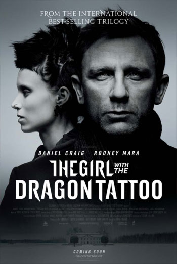 THE GIRL WITH THE DRAGON TATTOO artwork