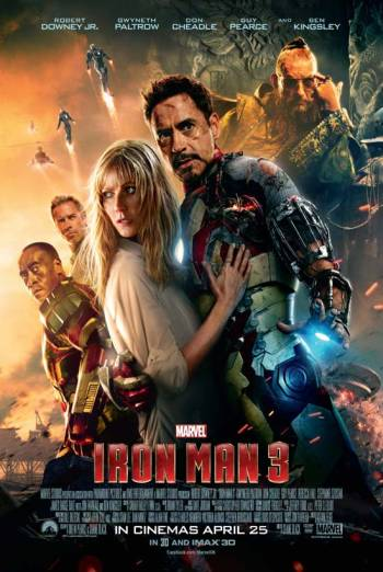 IRON MAN THREE <span>[3D]</span> artwork