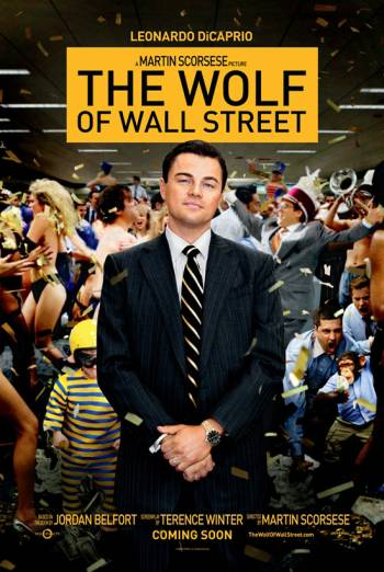 THE WOLF OF WALL STREET artwork