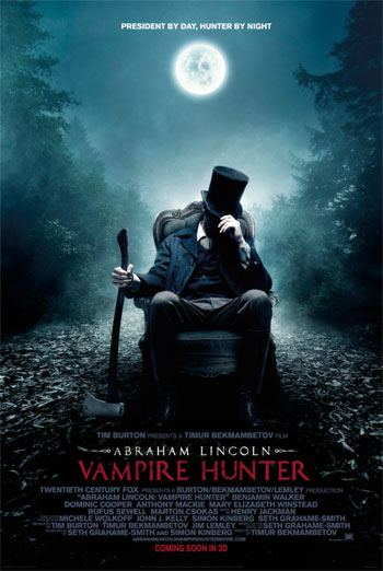 ABRAHAM LINCOLN VAMPIRE HUNTER <span>[2D]</span> artwork