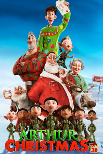 ARTHUR CHRISTMAS <span>[3D]</span> artwork