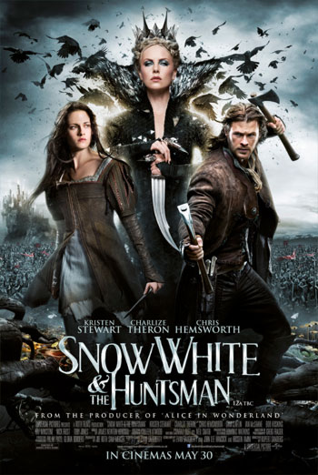 SNOW WHITE AND THE HUNTSMAN artwork