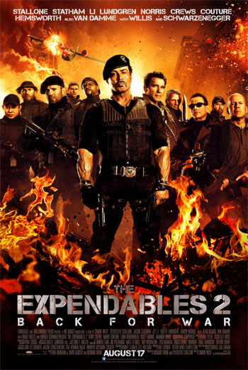 THE EXPENDABLES 2 artwork