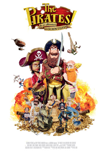 THE PIRATES! IN AN ADVENTURE WITH SCIENTISTS! <span>[2D]</span> artwork