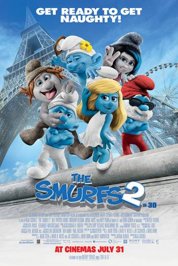 THE SMURFS 2 <span>[2D]</span> artwork