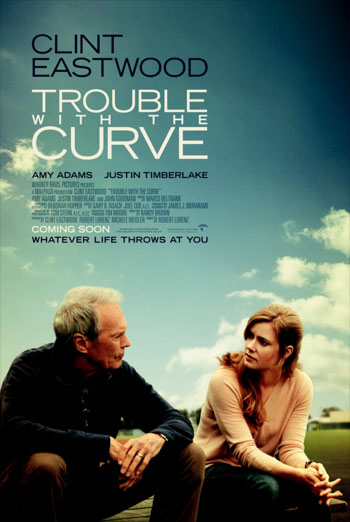 TROUBLE WITH THE CURVE artwork