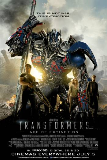 TRANSFORMERS: AGE OF EXTINCTION <span>[3D]</span> artwork