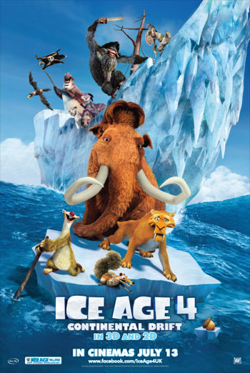 ICE AGE 4 - CONTINENTAL DRIFT <span>(2012)</span> artwork
