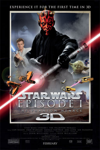 STAR WARS EPISODE I: THE PHANTOM MENACE artwork
