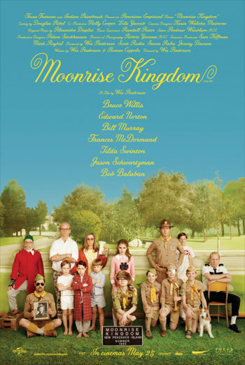 MOONRISE KINGDOM artwork