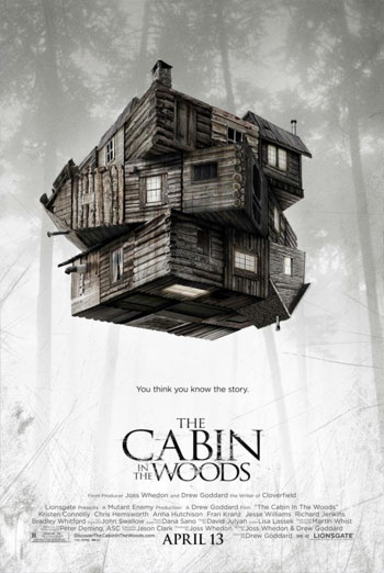 THE CABIN IN THE WOODS artwork