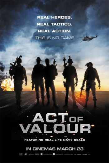 ACT OF VALOUR <span>(2012)</span> artwork
