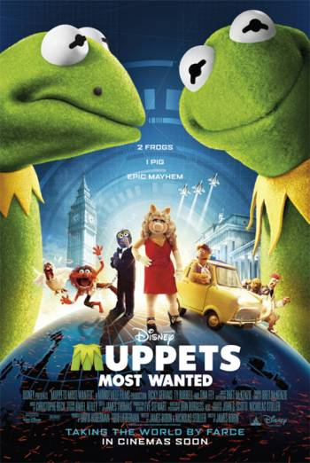 MUPPETS MOST WANTED artwork