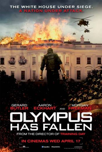 OLYMPUS HAS FALLEN artwork