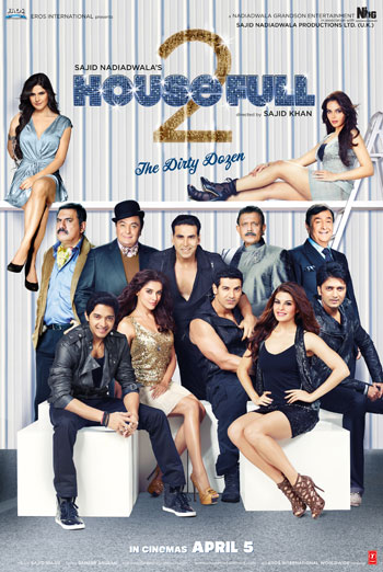 HOUSEFULL 2 <span>(2012)</span> artwork