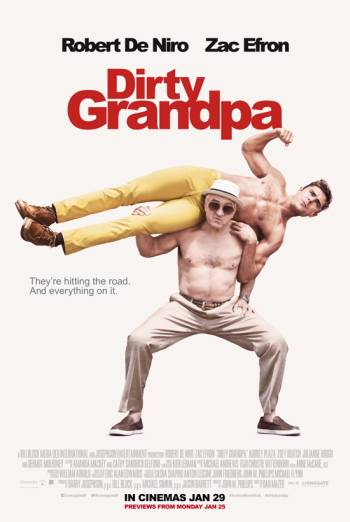 DIRTY GRANDPA artwork