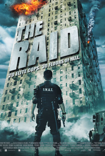 THE RAID artwork