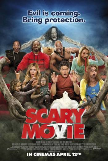 SCARY MOVIE V artwork