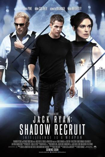 JACK RYAN: SHADOW RECRUIT artwork