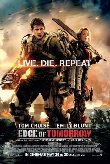EDGE OF TOMORROW artwork