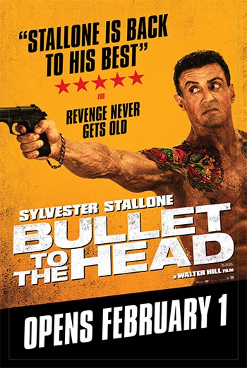 BULLET TO THE HEAD artwork