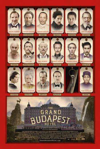 THE GRAND BUDAPEST HOTEL artwork