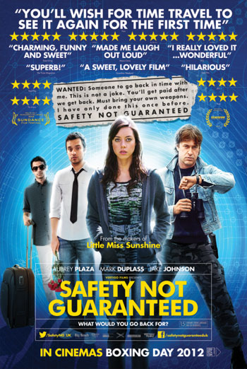 Safety Not Guaranteed Movie | Cinehook |Safety Not Guaranteed 2012 Cast