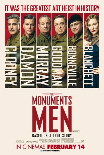 THE MONUMENTS MEN artwork