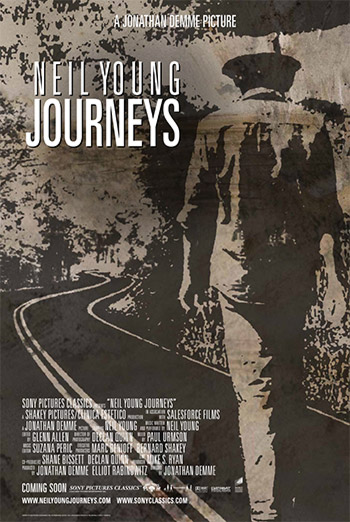 NEIL YOUNG - JOURNEYS artwork