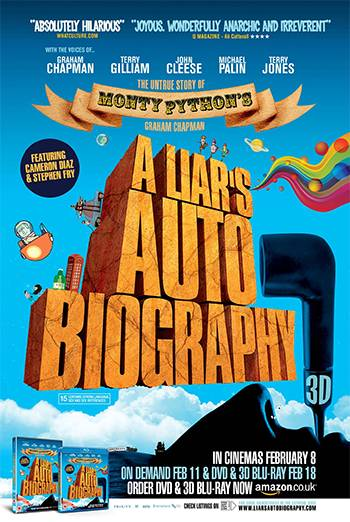 A LIAR'S AUTOBIOGRAPHY - THE UNTRUE STORY OF MONTY PYTHON'S GRAHAM CHAPMAN <span>[2D]</span> artwork