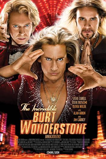 THE INCREDIBLE BURT WONDERSTONE artwork