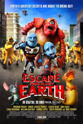 ESCAPE FROM PLANET EARTH <span>[2D]</span> artwork