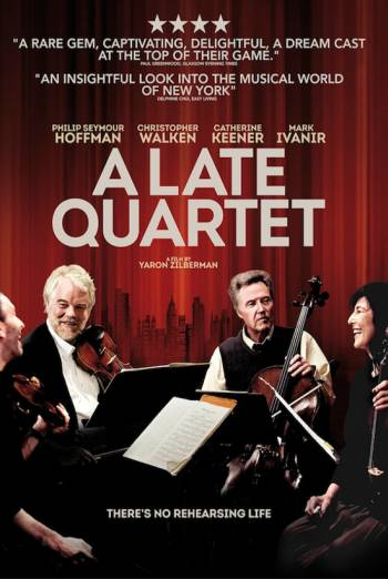 A LATE QUARTET artwork