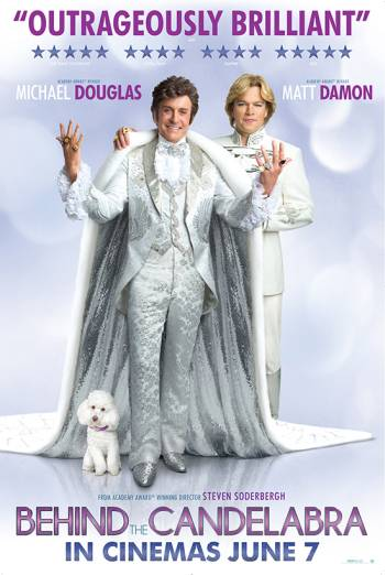 BEHIND THE CANDELABRA artwork