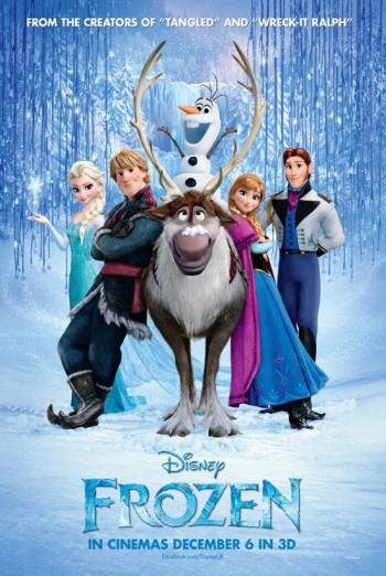 FROZEN <span>[Includes short Olaf&#039;s Frozen Adventure]</span> artwork