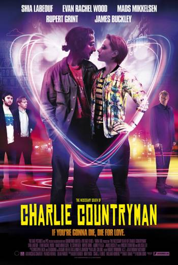 THE NECESSARY DEATH OF CHARLIE COUNTRYMAN artwork