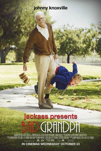 JACKASS PRESENTS BAD GRANDPA artwork