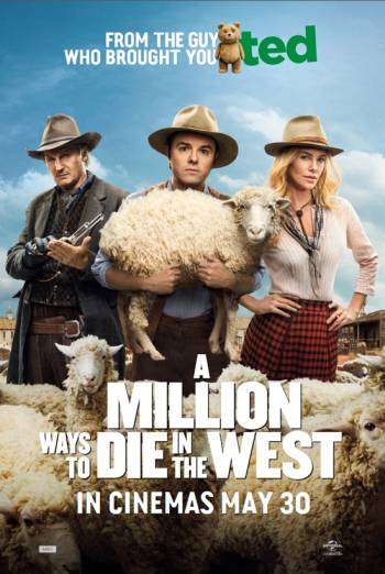 A MILLION WAYS TO DIE IN THE WEST <span>(2014)</span> artwork