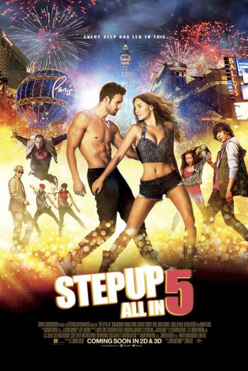 STEP UP 5: ALL IN <span>[3D]</span> artwork