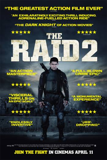 THE RAID 2 artwork