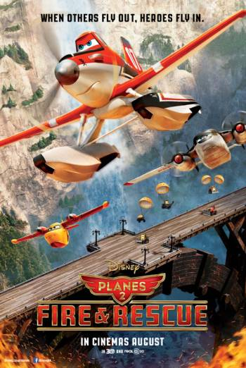 PLANES: FIRE AND RESCUE <span>[2D]</span> artwork