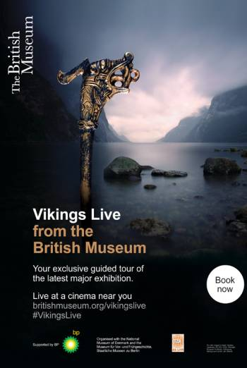 VIKINGS LIVE FROM THE BRITISH MUSEUM <span>(2014)</span> artwork