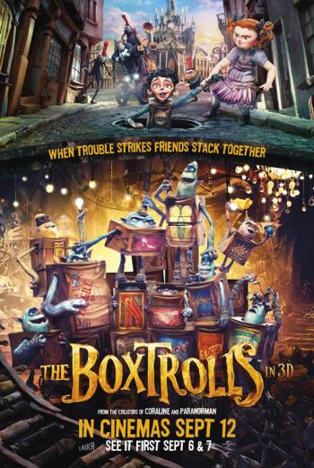 THE BOXTROLLS <span>[3D]</span> artwork