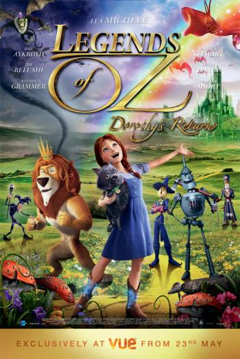 LEGENDS OF OZ: DOROTHY'S RETURN artwork