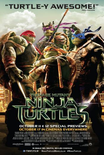 TEENAGE MUTANT NINJA TURTLES <span>(2014)</span> artwork