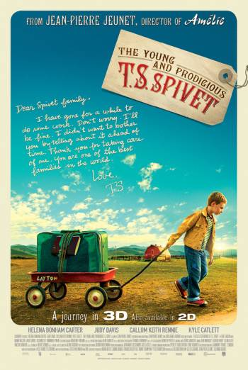 THE YOUNG AND PRODIGIOUS T.S. SPIVET <span>(2013)</span> artwork