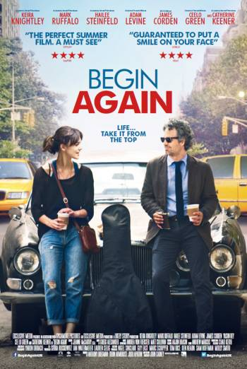BEGIN AGAIN artwork