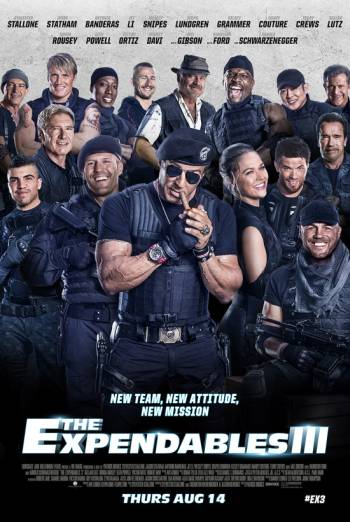 THE EXPENDABLES 3 artwork