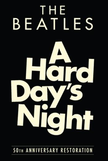 THE BEATLES - A HARD DAY'S NIGHT artwork