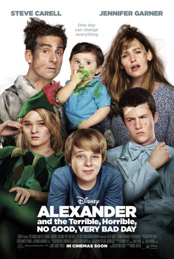 ALEXANDER AND THE TERRIBLE, HORRIBLE, NO GOOD, VERY BAD DAY <span>(2014)</span> artwork